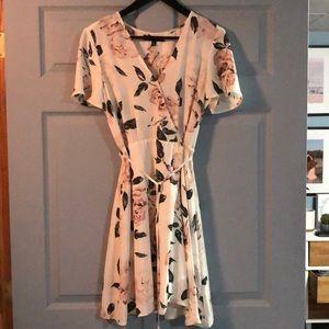 Floral dynamite dress